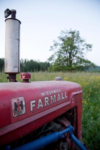 Our trusty Farmall