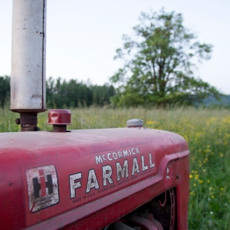 Our trusty Farmall